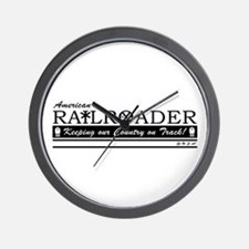 American Railroader Wall Clock