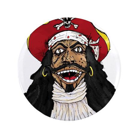 "Pirate Captain 3.5"" Button"