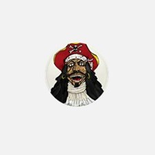 Pirate Captain Mini Button