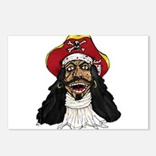 Pirate Captain Postcards (Package of 8)