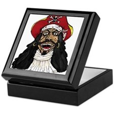 Pirate Captain Keepsake Box