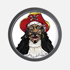 Pirate Captain Wall Clock