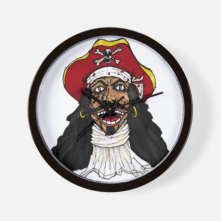 Pirate Captain Wall Clock