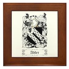 Adler [English] Framed Tile