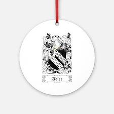Adler [English] Ornament (Round)