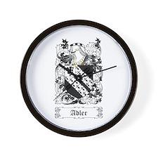 Adler [English] Wall Clock