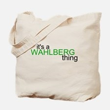 Wahlberg Thing Tote Bag