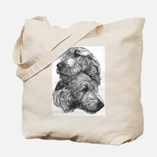 Irish Wolfhound Pair Tote Bag