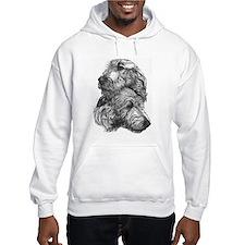 Irish Wolfhound Pair Hoodie