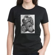 Irish Wolfhound Pair Tee