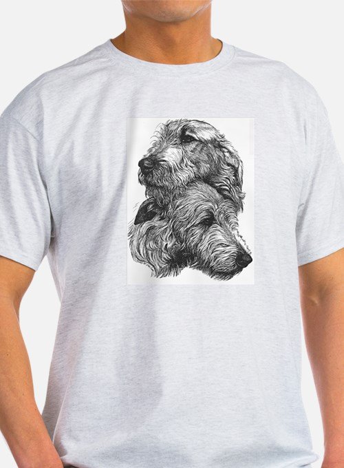 Irish Wolfhound Pair T-Shirt