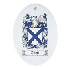 Abell Ornament (Oval)