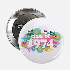 """Class of 1974 2.25"""" Button"""