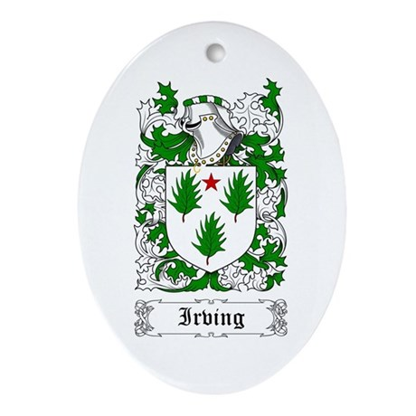 Irving Ornament (Oval)
