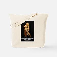 Magdalena in Cat Print - Tote Bag