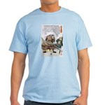 Japanese Samurai Warrior Nagamasa Light T-Shirt