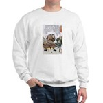Japanese Samurai Warrior Nagamasa Sweatshirt