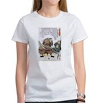 Japanese Samurai Warrior Nagamasa Women's T-Shirt