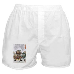 Japanese Samurai Warrior Nagamasa Boxer Shorts