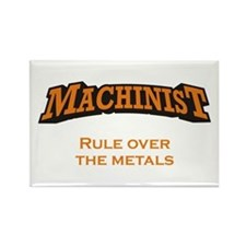 Machinist / Metals Rectangle Magnet