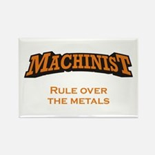 Machinist / Metals Rectangle Magnet