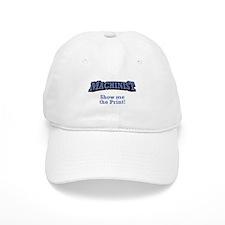 Machinist / Print Baseball Cap