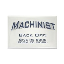 Machinist / Work Rectangle Magnet