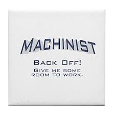 Machinist / Work Tile Coaster
