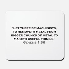 Machinist / Genesis Mousepad