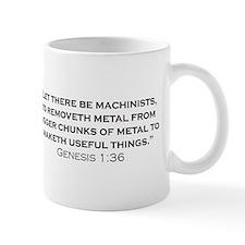 Machinist / Genesis Small Mug