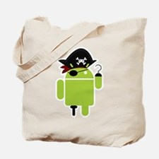 Android Pirate Tote Bag