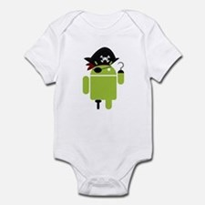 Android Pirate Infant Bodysuit