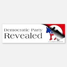 Democratic Party Revealed, Bumper Bumper Sticker