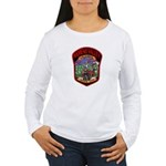 Moreno Valley Death City Women's Long Sleeve T-Shi