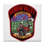 Moreno Valley Death City Tile Coaster