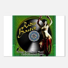 Radio Bastet Postcards (Package of 8)