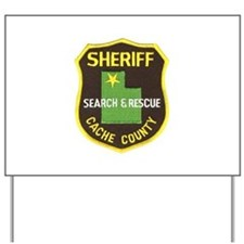 Cache County Sheriff Search & Yard Sign