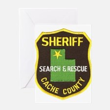 Cache County Sheriff Search & Greeting Card