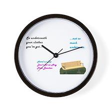 Unique Gilmores Wall Clock