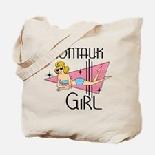 Montauk Girl Tote Bag