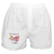 Montauk Girl Boxer Shorts