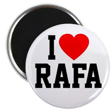 Heart Rafa Button Magnets