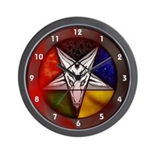 Wall Clock (Baphomet)