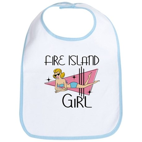 Fire Island Girl Bib