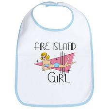 Fire Island Girl Bib