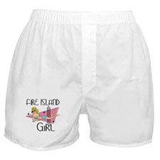 Fire Island Girl Boxer Shorts