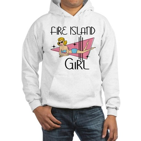 Fire Island Girl Hooded Sweatshirt