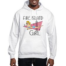 Fire Island Girl Hoodie