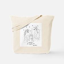 Unique You never alone Tote Bag