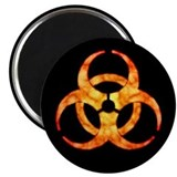 Biohazard symbol Magnets